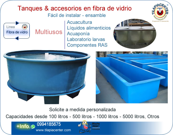 Tilapiacenter estanques y piscinas para cultivo de for Piscicultura en tanques plasticos