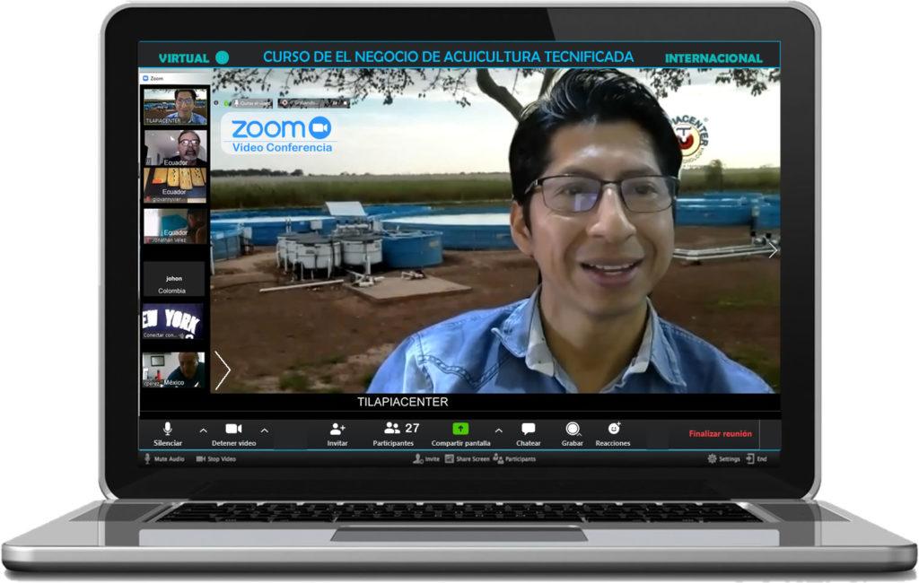 Curso virtual de el negocio de camarón y tilapia en tecnificado